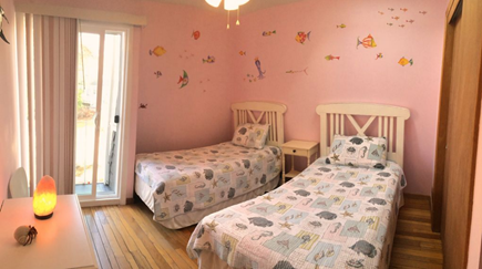 New Seabury New Seabury vacation rental - Coral Sunset guest bedroom, 2-twins, skylight, balcony. 2nd floor