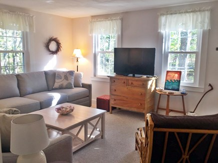 Eastham Cape Cod vacation rental - Living room with HDTV
