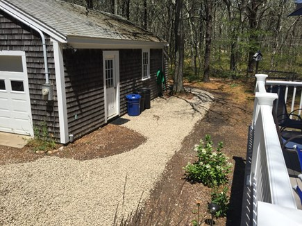 Eastham Cape Cod vacation rental - Detached garage