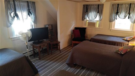 Eastham Cape Cod vacation rental - Second floor bedroom #2 with four twin beds