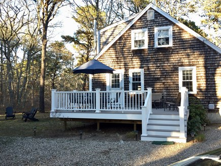Eastham Cape Cod vacation rental - New deck with deck furniture.
