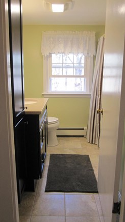Eastham Cape Cod vacation rental - Second floor bath with shower/ tub