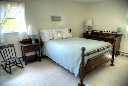 Orleans Cape Cod vacation rental - Queen bed, largest room with closet and dresser.