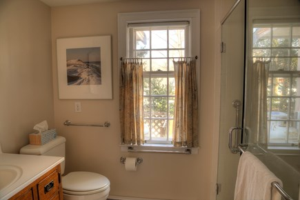 Orleans Cape Cod vacation rental - Bathroom 3/3, downstairs.  Large, glassed in shower.