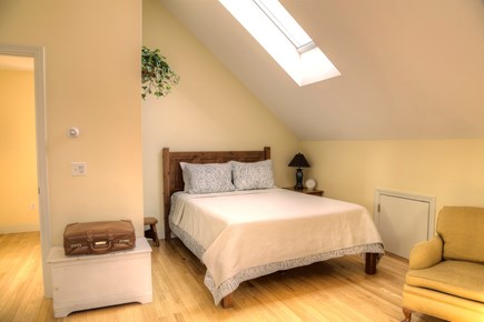 Orleans Cape Cod vacation rental - The master suite (bedroom 1/5) features a new queen bed.