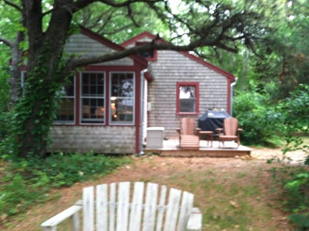 Wellfleet Cape Cod vacation rental - Deck, gas grill, and sunroom