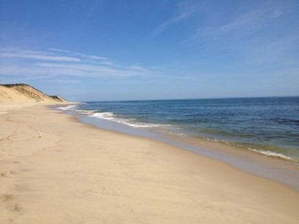 Wellfleet Cape Cod vacation rental - Newcomb Hollow Beach (10 min. drive from the cottage)