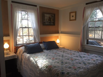 Wellfleet Cape Cod vacation rental - Double bed & ample storage