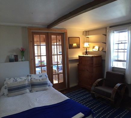 Wellfleet Cape Cod vacation rental - Flexible trundle: single/double/or separate single beds