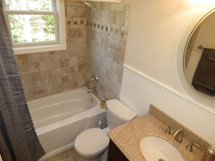 Brewster Cape Cod vacation rental - Second Full Bath on main floor next to second bedroom.