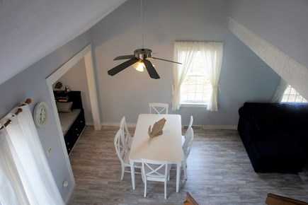 West Yarmouth Cape Cod vacation rental - View from the top of the stairs (vaulted ceiling)