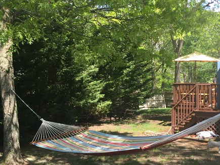 West Yarmouth Cape Cod vacation rental - Maybe take a nap or read a book on the hammock
