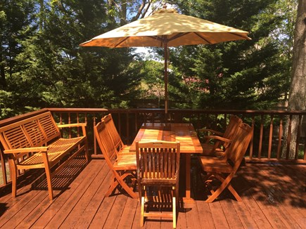 West Yarmouth Cape Cod vacation rental - Relax on the porch in the backyard