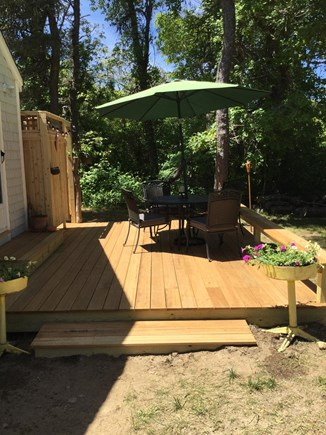 Chatham Cape Cod vacation rental - Deck & outdoor shower