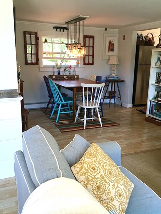 Chatham Cape Cod vacation rental - Dining area from the living room