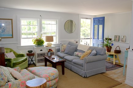 Chatham Cape Cod vacation rental - Living room and entrance
