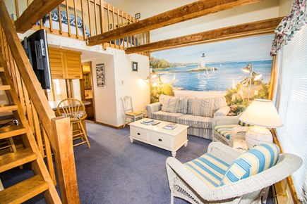 Chatham Cape Cod vacation rental - Living area coming in front door