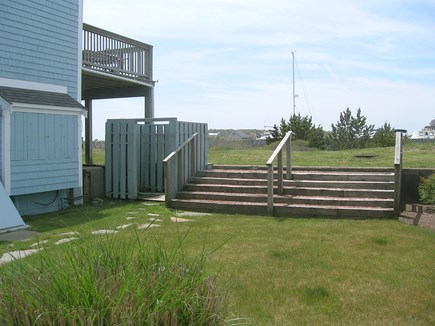 Chatham Cape Cod vacation rental - Yard area with outside shower