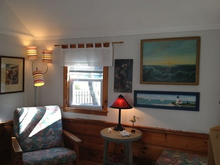 Dennis Port Cape Cod vacation rental - Living Room - Very Comfortable w/ Air conditioner