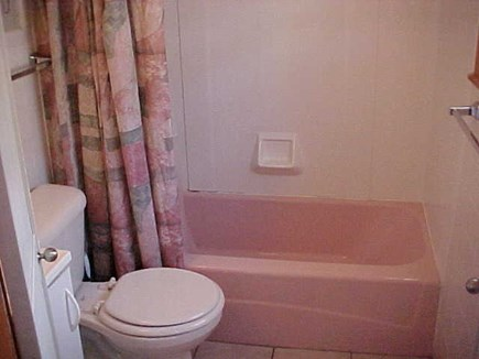 Dennis Port Cape Cod vacation rental - Bathroom with Full Size Bathtub & Shower