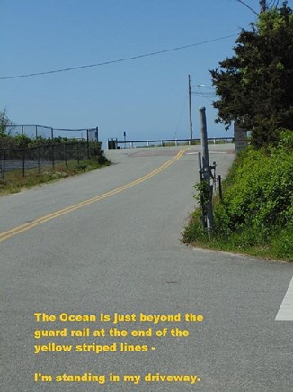 Dennis Port Cape Cod vacation rental - Beach Entrance Right Across from my Driveway