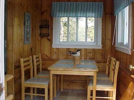 Dennis Port Cape Cod vacation rental - Comfy Breakfast Nook/Dining Area