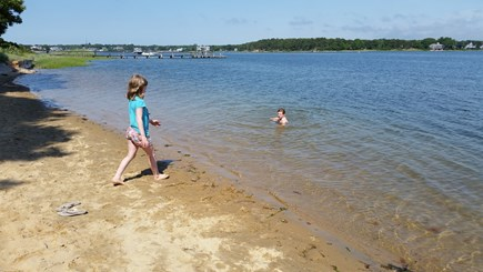South Yarmouth Cape Cod vacation rental - Child friendly gently sloping bottom.