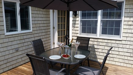 South Yarmouth Cape Cod vacation rental - Deck with gas grill
