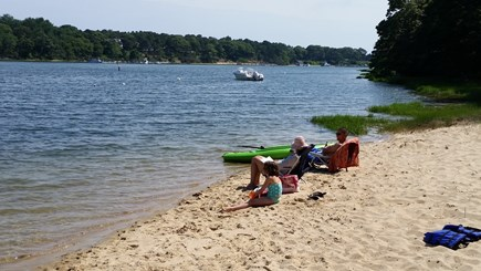 South Yarmouth Cape Cod vacation rental - Private beach perfect for sand castles,swimming,kayaking,fishing.