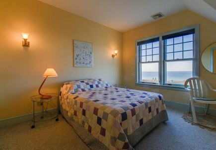 Falmouth Cape Cod vacation rental - Lovely water views are seen from a queen bed in the 3rd bedroom