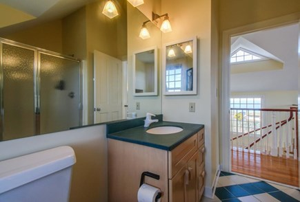 Falmouth Cape Cod vacation rental - Full bathroom located on upper level