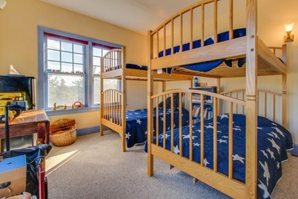 Falmouth Cape Cod vacation rental - The 4th bedroom has 2 sets of twin-size bunk beds