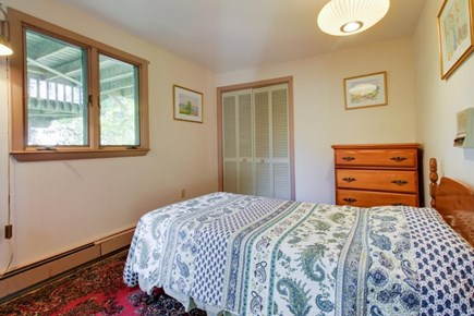 Falmouth Cape Cod vacation rental - Off central foyer is main floor bedroom w/ twin-size bed