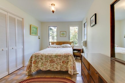 Falmouth Cape Cod vacation rental - Main floor queen bedroom has attached bathroom w/shower