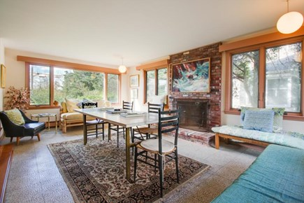 Falmouth Cape Cod vacation rental - Spacious home is welcoming w/ large windows & plenty of seating