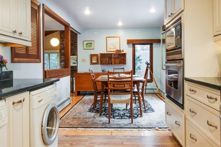 Falmouth Cape Cod vacation rental - Kitchen has Pergo flooring & a washer/dryer for your convenience