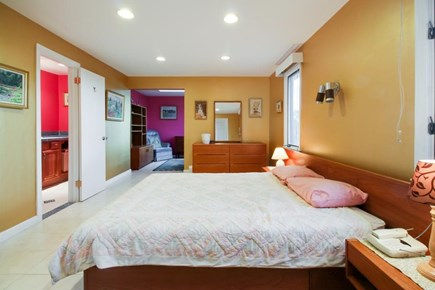 Falmouth Cape Cod vacation rental - Master suite offers a queen bed & a private sitting area