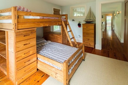 Falmouth Cape Cod vacation rental - The 3rd bedroom has a set of twin-size bunk beds