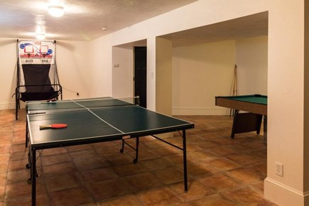 Falmouth Cape Cod vacation rental - Have fun playing ping-pong or pool in the basement game room