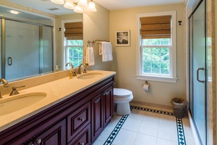 Falmouth Cape Cod vacation rental - Lovely en suite bathroom w/large shower