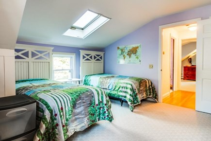 Dennis Cape Cod vacation rental - 4 twin beds in the 3rd bedroom, perfect for the kids