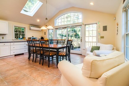 Dennis Cape Cod vacation rental - Enjoy meals on the large dining table w/ seating for 8