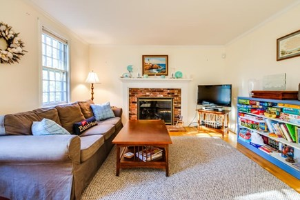 Dennis Cape Cod vacation rental - A wide selection of books & games can be found in the living room
