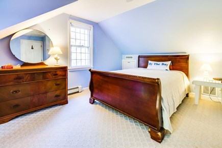Dennis Cape Cod vacation rental - A queen-size sleigh bed & cable TV found in the master bedroom