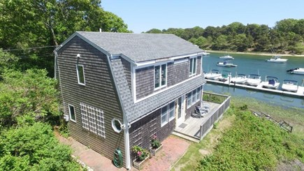 Chatham Cape Cod vacation rental - On the riverfront between Oyster Pond & the open Nantucket Sound