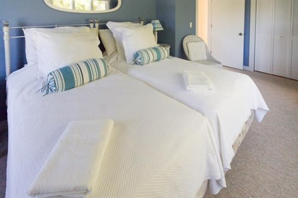 Chatham Cape Cod vacation rental - 2 twin-size beds w/charming captain quarter's theme 2nd bedroom