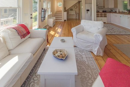Chatham Cape Cod vacation rental - Hardwood floors, large windows, & pristine white furnishings