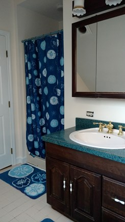 Wellfleet Cape Cod vacation rental - 2nd fl bath with shower and jacuzzi