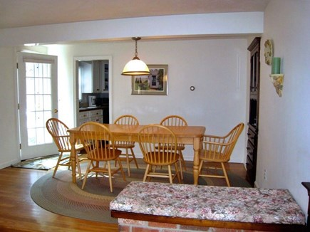 South Chatham Cape Cod vacation rental - Dining Room off Kitchen