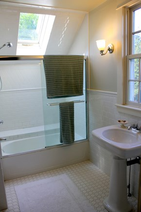 Eastham Cape Cod vacation rental - Second Floor Hallway Bathroom